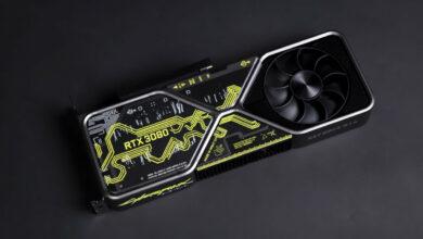 Titelbild RTX 3080 im Cyperpunkt 2077 Design