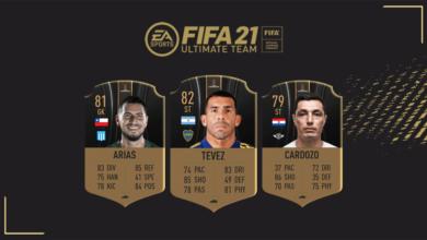 FIFA 21: MOTM Libertadores - Nuevas tarjetas Hombre del partido disponibles - 5 de diciembre