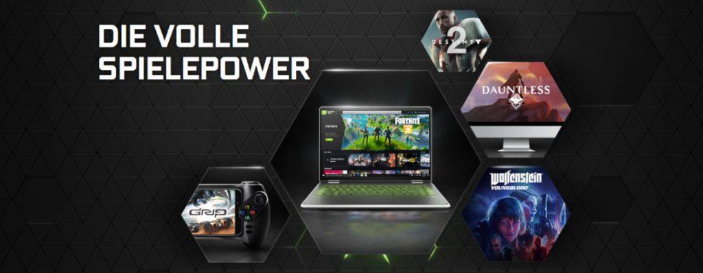 Servicio de transmisión GeForce Now de Nvidia