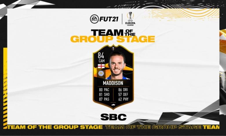 FIFA 21: James Maddison SBC TOTGS - Requisitos y soluciones