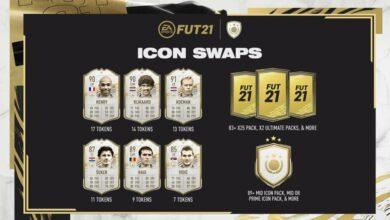 FIFA 21: Icon Swaps 1 - Fichas y logros