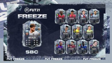 FIFA 21: SBC Cristian Ansaldi Freeze - Requisitos y soluciones