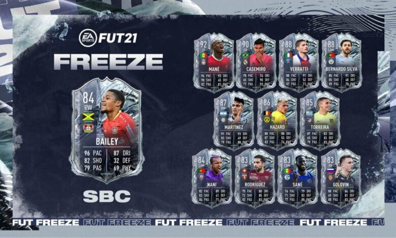 FIFA 21: SBC Leon Bailey Freeze - Requisitos y soluciones