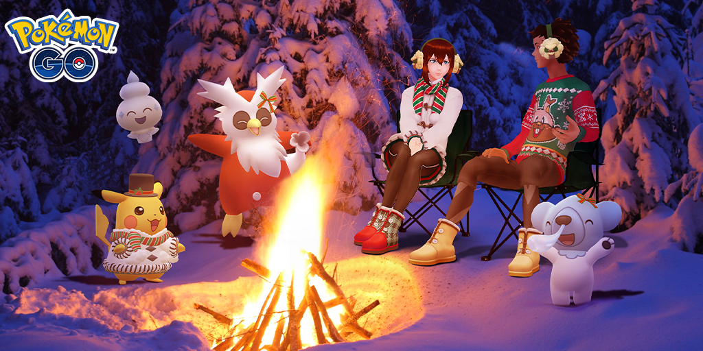 Pokémon GO Navidad 2020
