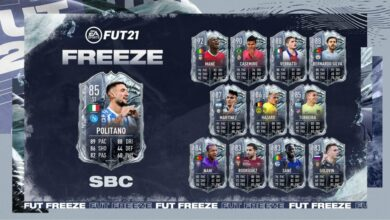 FIFA 21: SBC Matteo Politano Freeze - Requisitos y soluciones