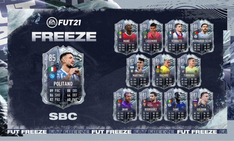 FIFA 21: SBC Matteo Politano Freeze - Requisitos y soluciones