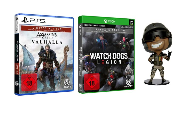 Principales ofertas en Amazon con Watch Dogs Legion & AC: Valhalla