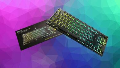 Roccat Vulcan TKL Pro en la prueba: el mejor teclado de Roccat, si necesita más espacio