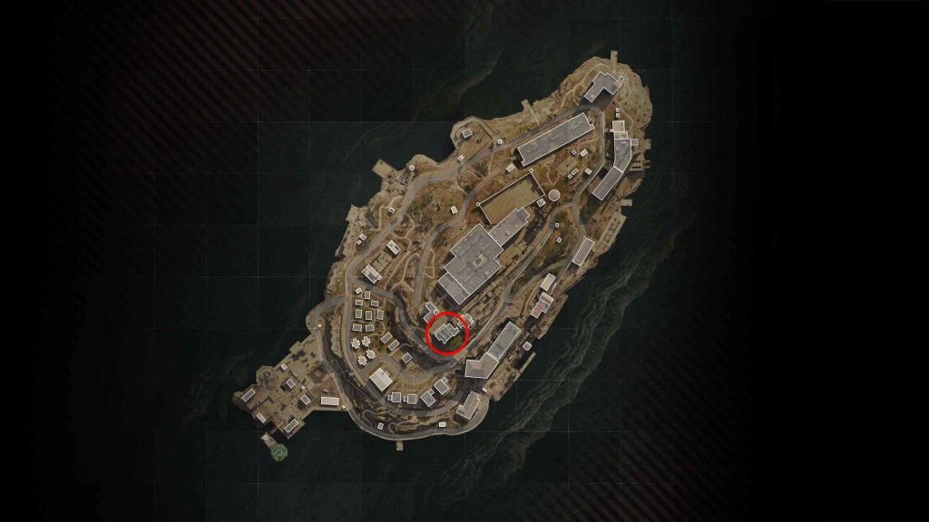 bacalao zona de guerra isla de renacimiento huevo de pascua mapa de habitación roja habitación secreta