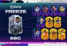 FIFA 21: SBC Kenny Lala Freeze - Requisitos y soluciones