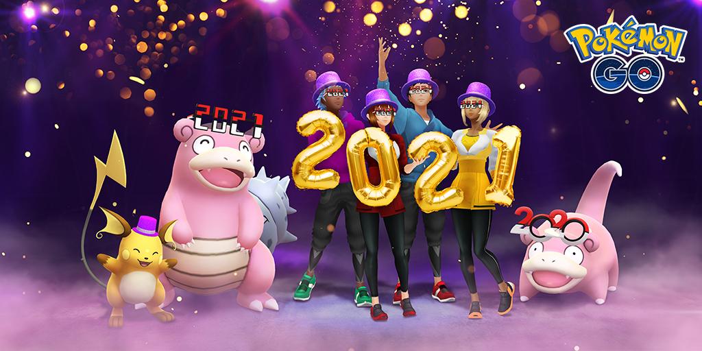 Evento Pokémon GO Año Nuevo 2021