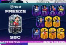 FIFA 21: SBC Roberto Firmino Freeze - Requisitos y soluciones