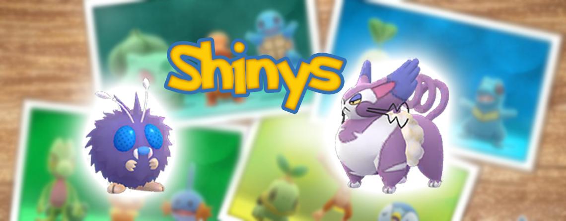 Título de Pokémon GO Shinys Bluzuk Shnurgarst