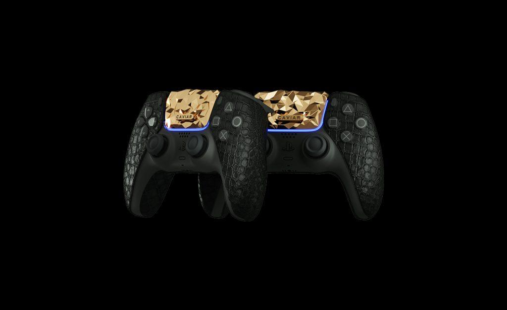 controlador ps5 oro 1
