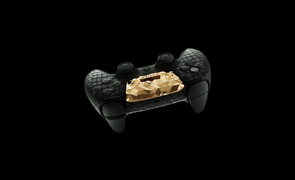 controlador ps5 oro 3