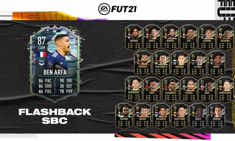 FIFA 21: SBC Ben Arfa Flashback Era - Requisitos y soluciones