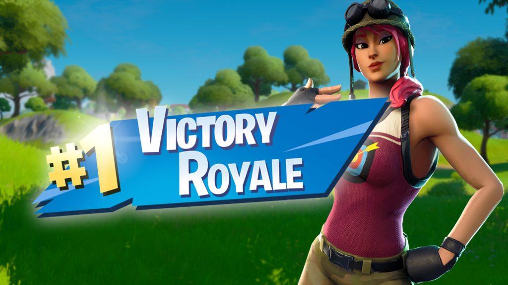 Título de Fortnite victory royale
