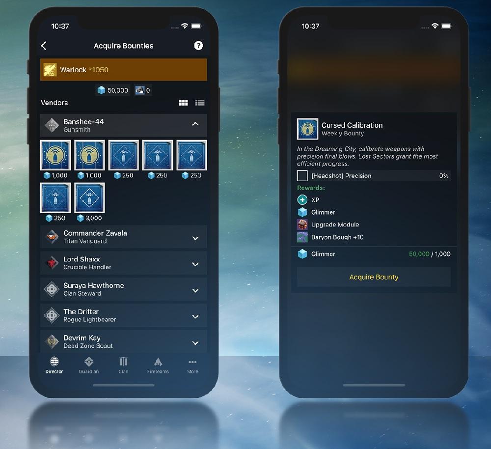 Destiny 2 Companion App Companion Smartphone Celular
