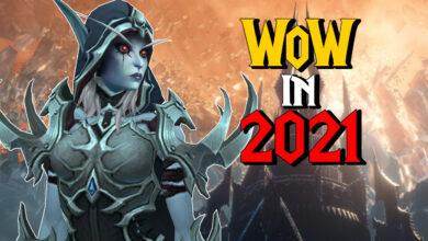 Así va con WoW: Shadowlands en el año 2021