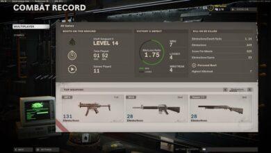 Call of Duty (COD) Black Ops Cold War - Cómo verificar KD