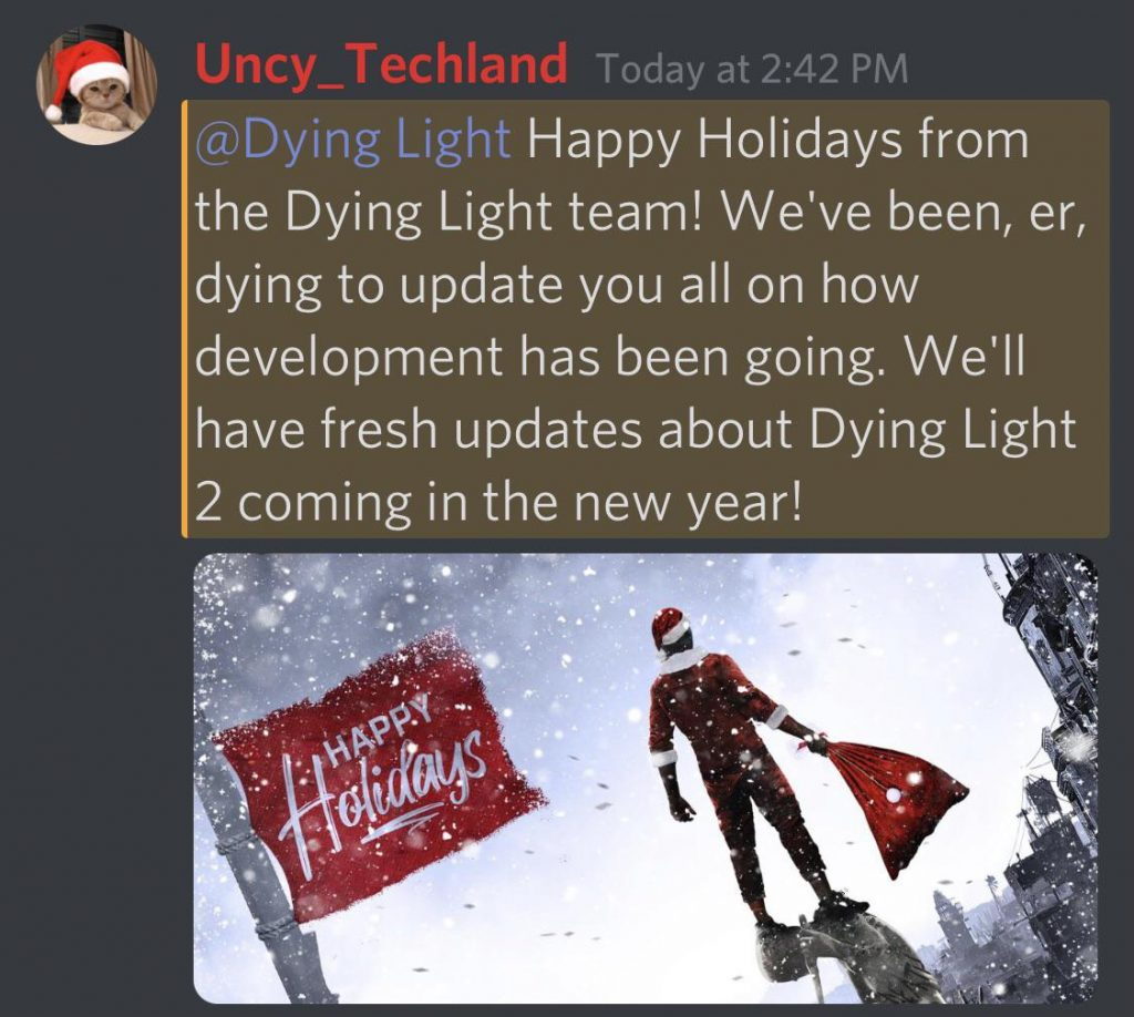 Anuncio de Dying Light 2