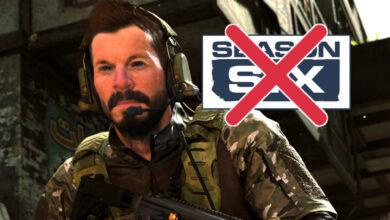 CoD MW & Warzone: Battle Pass se ha ido, la temporada 6 ha terminado, así que continúa