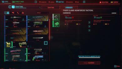 Cyberpunk 2077 - Error de elaboración - Cómo solucionarlo