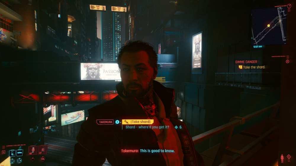 cyberpunk 2077 dame peligro