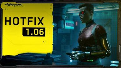 Cyberpunk 2077 - Notas del parche de la actualización 1.06 - 23 de diciembre de 2020