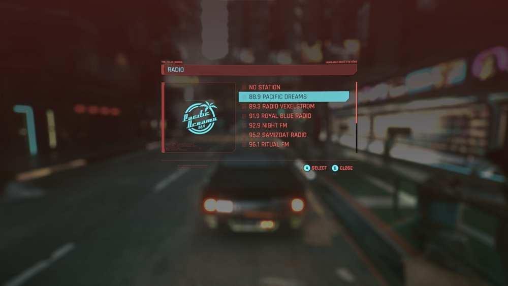 radios cyberpunk 2077