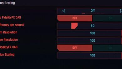 Cyberpunk 2077: la mejor configuración de gráficos para aumentar los FPS