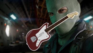 Después de asesinatos con la batería: ahora un jugador mece CoD Cold War con una guitarra