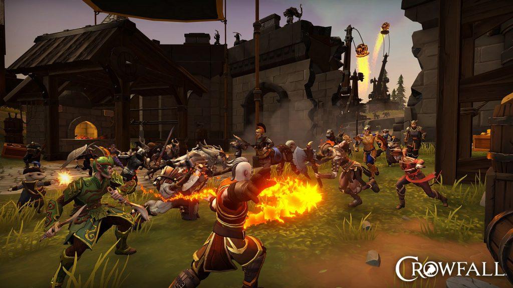 Batalla masiva Crowfall