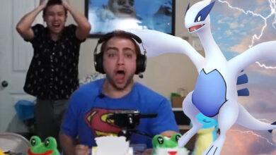 El streamer de Twitch abre cartas de Pokémon frente a 100.000 personas y se lleva el premio mayor