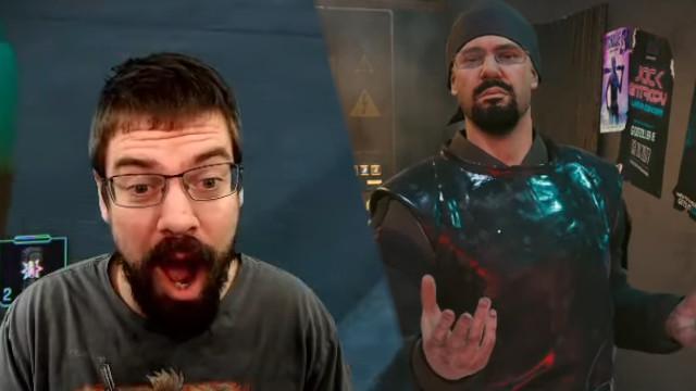 Twitch-Streamer trifft sich selbst in Cyberpunk 2077 – ist verzückt