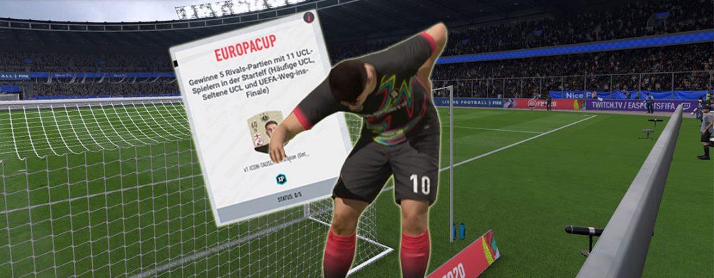 Intercambio de íconos de FIFA 20