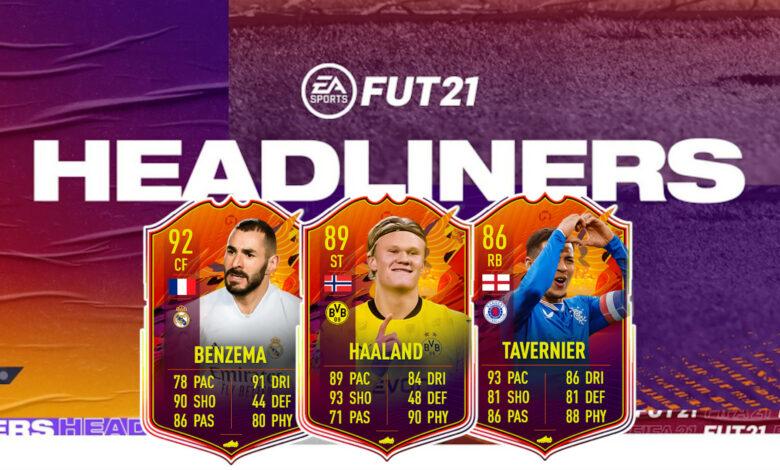 Evento Headliners de FIFA 21: predicciones para las nuevas cartas especiales