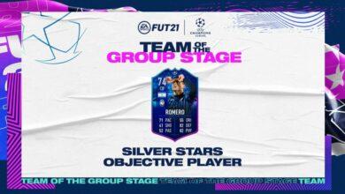 FIFA 21: Cristian Romero TOTGS Silver Stars Objetivos - Requisitos