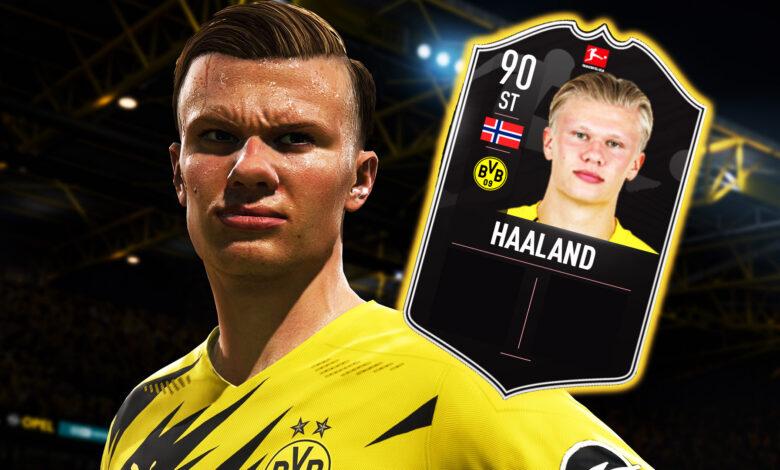 FIFA 21: Haaland obtiene una tarjeta POTM increíblemente fuerte que vale la pena el dinero