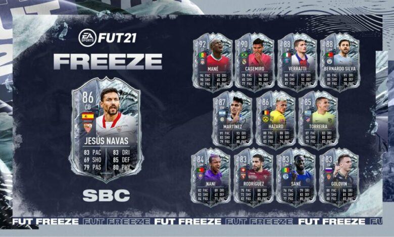 FIFA 21: Jesus Navas Freeze SBC - Requisitos y soluciones