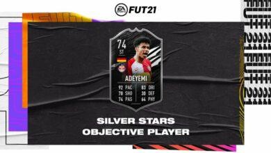 FIFA 21: Karim Adeyemi Silver Stars Objetivos - Requisitos