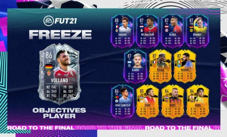 FIFA 21: Kevin Volland Freeze Objectives - Requisitos