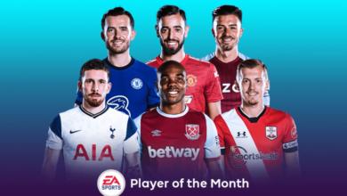 FIFA 21: Nominaciones POTM de noviembre de la Premier League