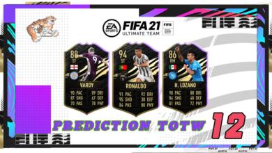 FIFA 21: Predicción TOTW 12 del modo Ultimate Team