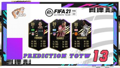 FIFA 21: Predicción TOTW 13 del modo Ultimate Team