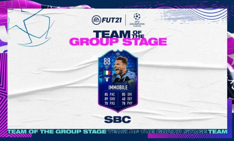 FIFA 21: SBC Ciro Immobile TOTGS - Requisitos y soluciones