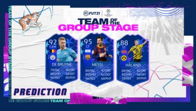 FIFA 21: TOTGS - Predicción del equipo de la fase de grupos y fecha de lanzamiento oficial