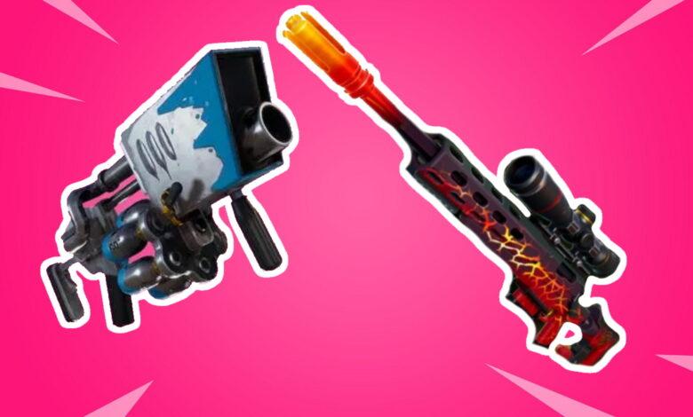 Fortnite: aquí encontrarás las nuevas armas Big Chill y Dragon's Breath