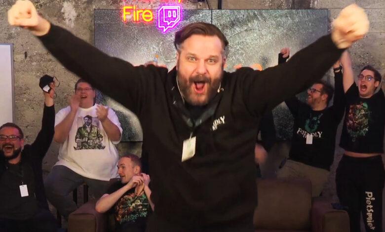 Friendly Fire 6 en Twitch: Gronkh y PietSmiet están felices con las donaciones de € 1 millón