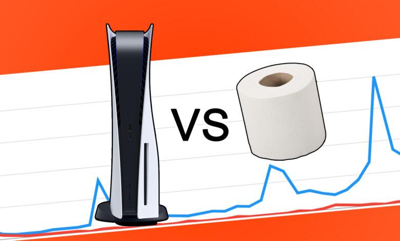 Google Trends 2020 prueba: PS5 realmente fue el nuevo papel higiénico
